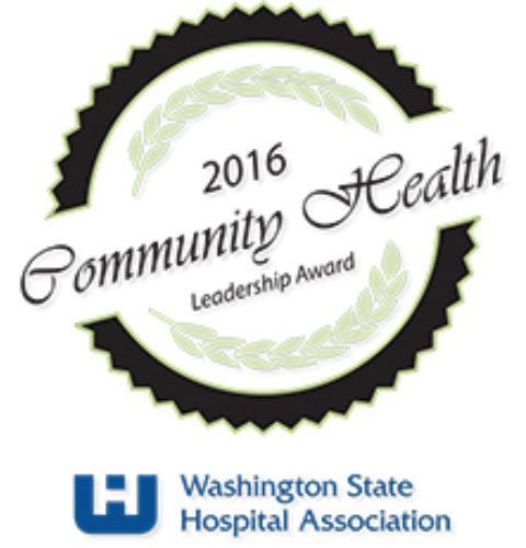 Community Health Leadership Award Logo