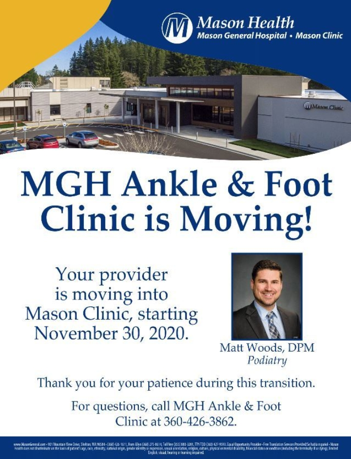 Ankle And Foot Clinic Moving
