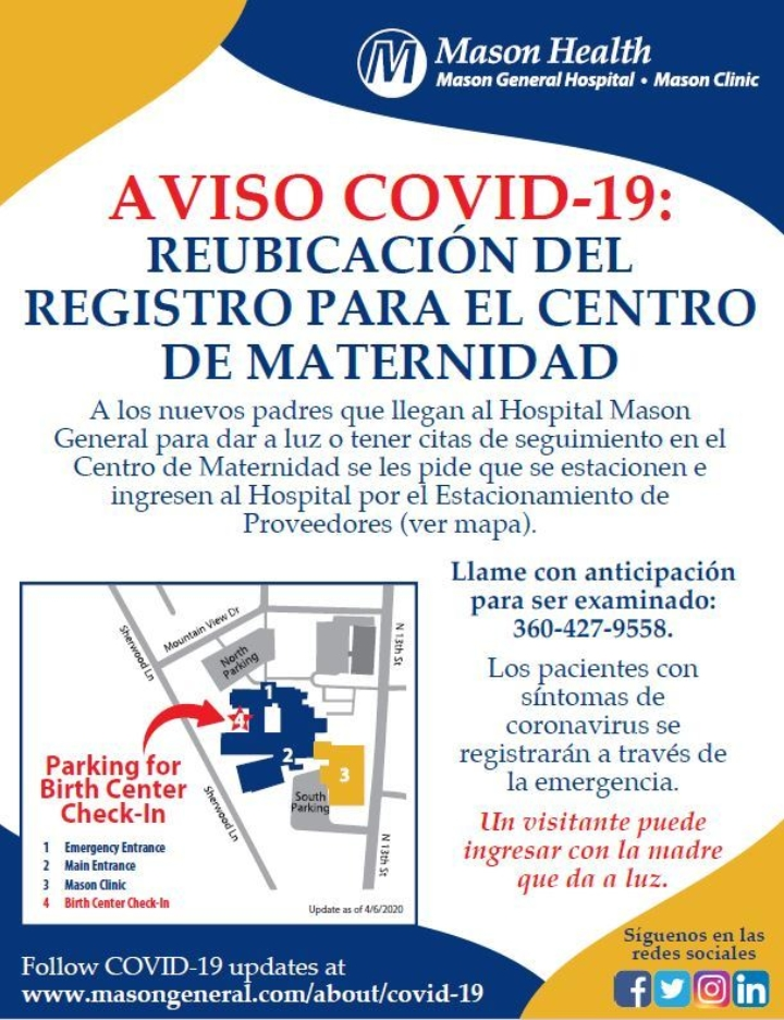 Birth Center Spanish